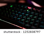 Keyboard with LED colors