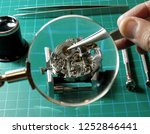 close up of watchmaker... | Shutterstock . vector #1252846441
