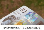 Ten pound note closeup