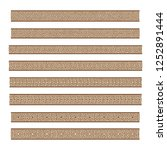 a set of eight mosaic tile... | Shutterstock . vector #1252891444