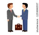 handshake icon. shake hands ...   Shutterstock .eps vector #1253000557