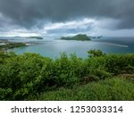 beautiful beach and sea in... | Shutterstock . vector #1253033314