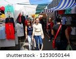 odessa  ukraine   05.16.2016.... | Shutterstock . vector #1253050144