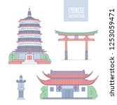 Vector Chinese Architecture...