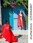 dali   china   oct 2018  the...   Shutterstock . vector #1253066887