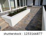 modern paved building access... | Shutterstock . vector #1253166877