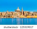 Valletta Skyline In The Evening ...