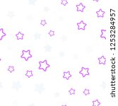 light pink  yellow vector... | Shutterstock .eps vector #1253284957