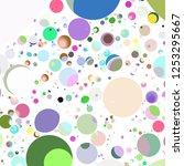 Multicolor Geometric Circle...