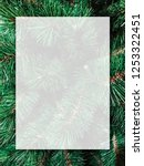 christmas background design of... | Shutterstock . vector #1253322451