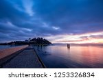 few moments before the sun... | Shutterstock . vector #1253326834