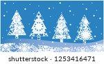 vector illustration christmas... | Shutterstock .eps vector #1253416471