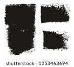 paint brush wide background  ... | Shutterstock .eps vector #1253463694
