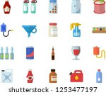 color flat icon set spice flat... | Shutterstock .eps vector #1253477197