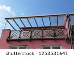 modern high quality balcony... | Shutterstock . vector #1253531641