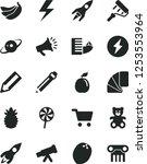 solid black vector icon set  ... | Shutterstock .eps vector #1253553964