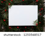 creative christmas background | Shutterstock . vector #1253568517