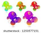 virtual reality concept. 3d... | Shutterstock .eps vector #1253577151