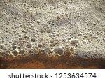 sea foamy waves seashore  | Shutterstock . vector #1253634574