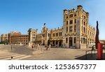 valencia  spain   july 5th ... | Shutterstock . vector #1253657377