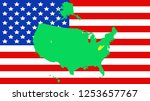 usa state of west virginia map...   Shutterstock .eps vector #1253657767