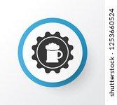 badge icon symbol. premium... | Shutterstock . vector #1253660524