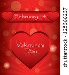 special valentin s day... | Shutterstock . vector #125366237