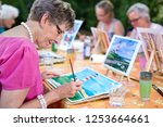 Art therapy for senior ladies ...