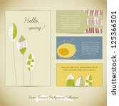 vector banner background... | Shutterstock .eps vector #125366501