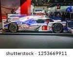 frankfurt   sept 2015  toyota... | Shutterstock . vector #1253669911