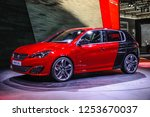 frankfurt   sept 2015  peugeot... | Shutterstock . vector #1253670037
