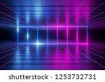 3d render  abstract background  ... | Shutterstock . vector #1253732731