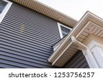Vinyl Siding Up The Side Of A...