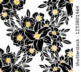 abstract elegance seamless... | Shutterstock . vector #1253801464