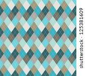 seamless argyle pattern.... | Shutterstock .eps vector #125381609