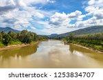 periyar river  thattekad  kerala | Shutterstock . vector #1253834707