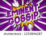 eminent gossip   vector... | Shutterstock .eps vector #1253846287