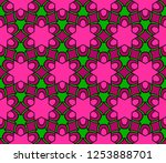 design with abstract geometric... | Shutterstock .eps vector #1253888701