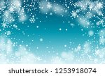 background for new year... | Shutterstock .eps vector #1253918074