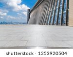 panoramic skyline and modern... | Shutterstock . vector #1253920504