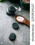 spa natural concept. dayspa... | Shutterstock . vector #1253924137
