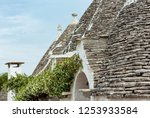 trulli houses roofs in main...   Shutterstock . vector #1253933584