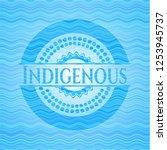 indigenous light blue water... | Shutterstock .eps vector #1253945737