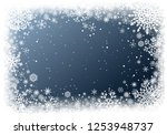 christmas greting card with... | Shutterstock .eps vector #1253948737