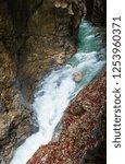 summer liechtensteinklamm gorge ...   Shutterstock . vector #1253960371