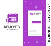 business logo for schedule ... | Shutterstock .eps vector #1253975917