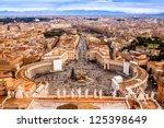 Rome  Italy. Famous Saint Pete...