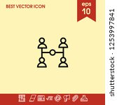 account share icon vector
