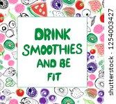 slogan  call  lettering ... | Shutterstock .eps vector #1254003427