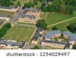 thiverval grignon  france  ... | Shutterstock . vector #1254029497